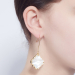 Alternate Image For Filigree Morocco Drop Earrings - Mother of Pearl