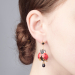 Alternate Image For Bejewelled Ladybird Statement Earring