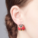 Alternate Image For Bejewelled Ladybird Stud Earring