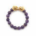 Alternate Image For Tiger Stretch Bracelet (amethyst)