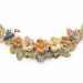 Alternate Image For Tropical Statement Necklace - Gold