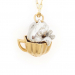 Alternate Image For Tea Party Rabbit Necklace