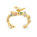 Alternate Image For Potting Shed Bird Open Ring - Gold