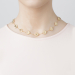 Alternate Image For Daisy Chain Necklace - Gold