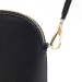 Alternate Image For Queen Bee Leather Handbag - Black