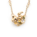 Alternate Image For Rabbit Sitting Necklace - Gold