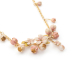 Alternate Image For Cherry Blossom Statement Necklace - Gold