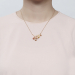 Alternate Image For Cherry Blossom Bud Necklace - Gold