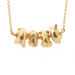Alternate Image For Puppy Dog Necklace - Gold
