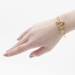 Alternate Image For Bird House Bangle - Gold