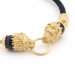 Alternate Image For Lion Friendship Bracelet - Black